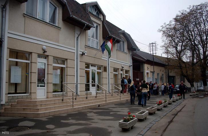 A beregszászi magyar konzulátus épülete