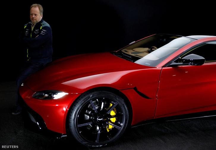 Andy Palmer, az Aston Martin ügyvezető igazgatója
