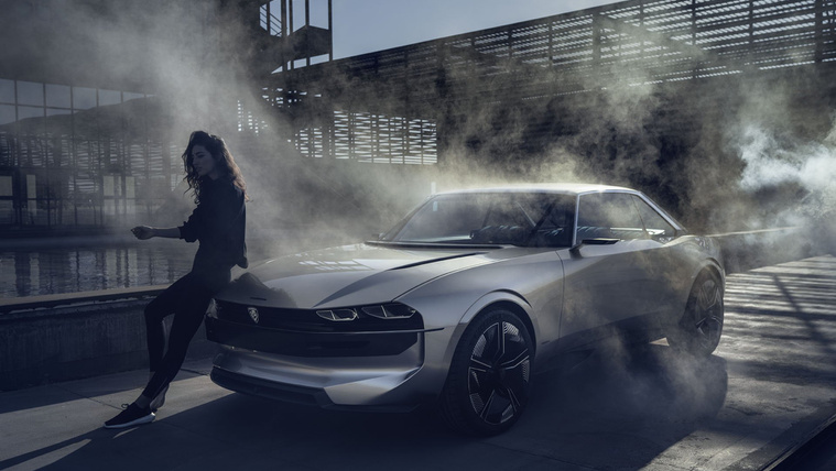 Legenda is lehetne a Peugeot tanulmánya