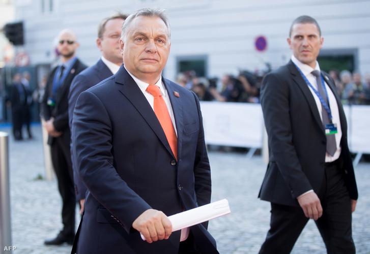 Orbán Viktor miniszterelnök csütörtökön Salzburgban.
