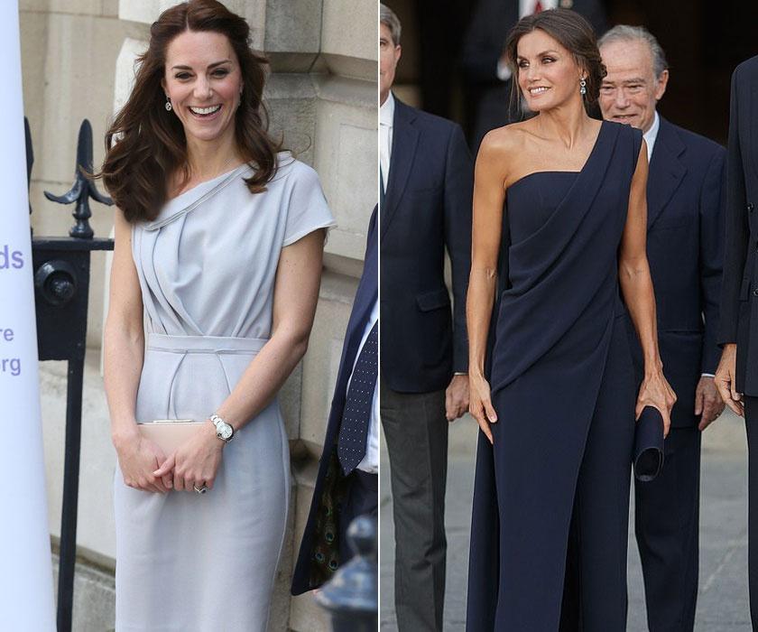 Neked melyikük félvállas ruhája tetszett jobban?