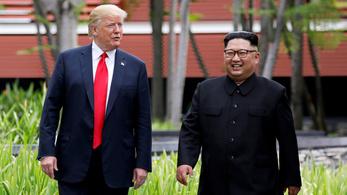 Kim Dzsongun nagyon akarja az újabb találkozót Trumppal