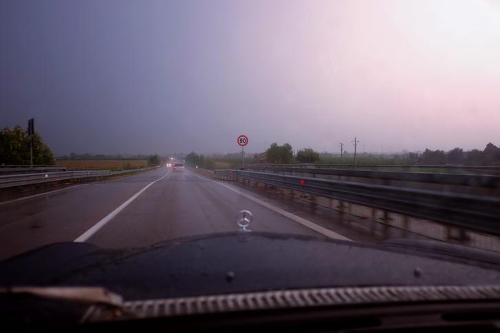 Ítéletidő Imola felé