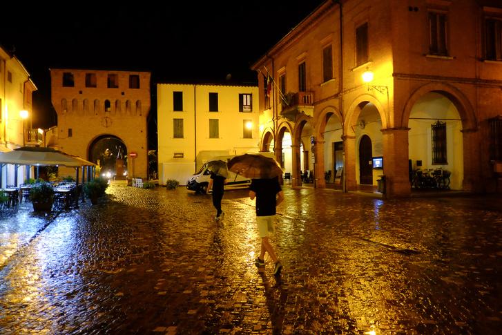 Bagnara di Romea meglepően aranyos városka