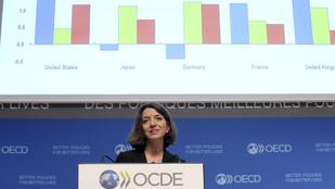 Az OECD szerint nem lesz akkora gazdasági növekedés