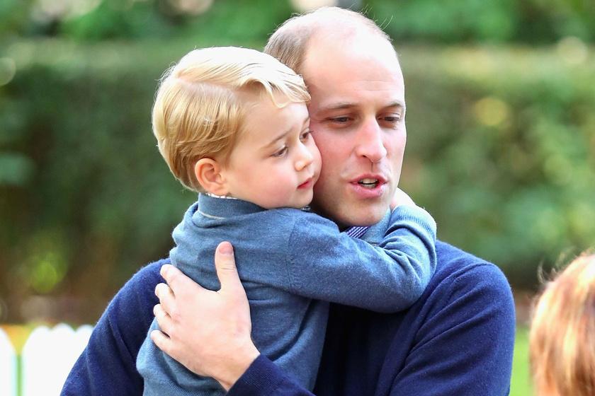 Vilmos herceg nagyon cuki dolgot árult el kisfiáról - Ezt kotyogta ki György hercegről