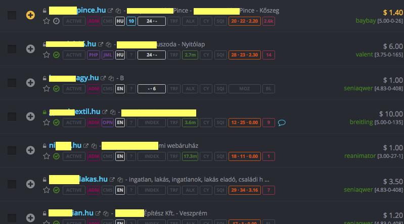 Aprópénzért adják-veszik a feltört magyar weboldalakat