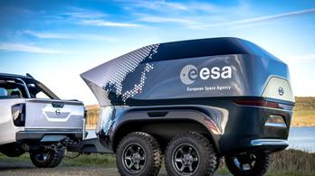 Terepjáró csillagászlabort fejlesztett az ESA és a Nissan