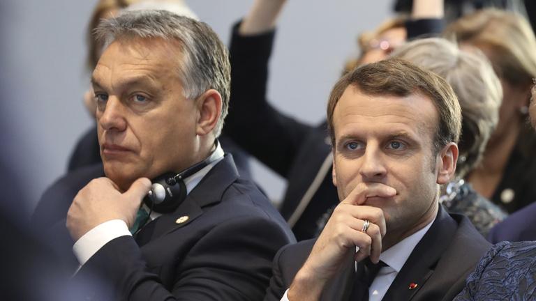 Macron Orbán ellen? Izgalmas mese, csak nem teljesen igaz