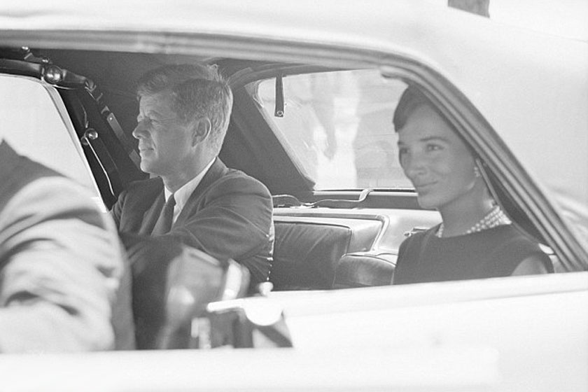 JFK és sógornője, Lee - 1963 augusztusában.