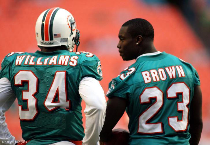 A Wildcat két kulcsembere, Ricky Williams és Ronnie Brown