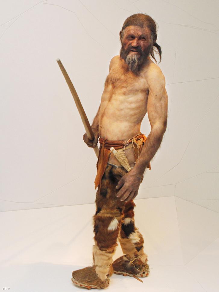 Így nézhetett ki Ötzi