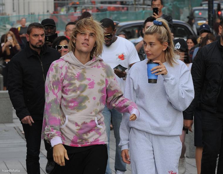 Justin Bieber és menyasszonya, Hailey Baldwin a napokban Londonban voltak.