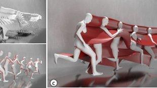 """2D videóból alkot nyomtatott """"mozgás-szobrot"""" egy MI"""