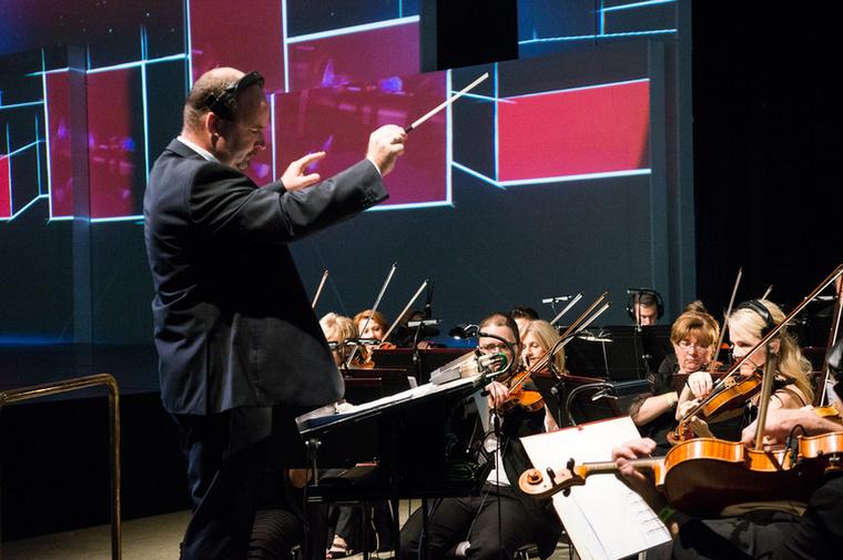 Tényleg ünnepség volt: még élő zenét is játszott a Győri Filharmonikus Zenekar