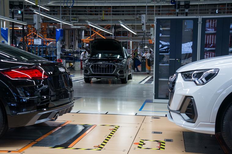 A győri Audi Hungaria Zrt Magyarország második legnagyobb vállalata (A MOL az első)
