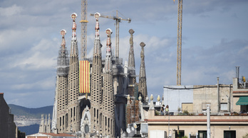 A Sagrada Família lesz Barcelona legmagasabb épülete