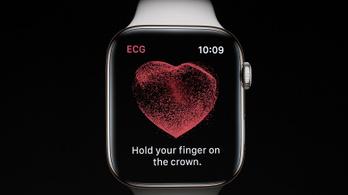 Életeket menthet az Apple Watch