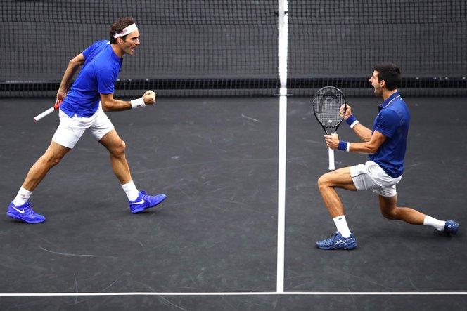 Összeállt Federer és Djokovics párosa a Laver-kupán