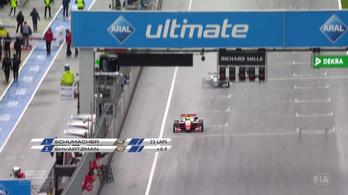 Schumacher fia megállíthatatlan, sorban negyedszer nyert az F3 Eb-n