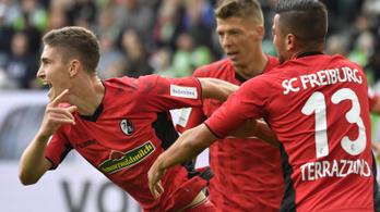 Sallainak 7 perc kellett első Bundesliga-góljához