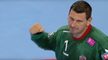 Sterbik jól védve is 31 gólt kapott, elbukott a Veszprém