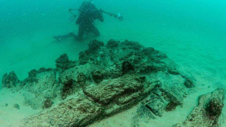 Több száz éves hajóroncs került elő Portugáliában