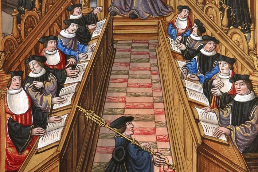 Élet a középkori egyetemeken: 4 karon lehetett tanulni