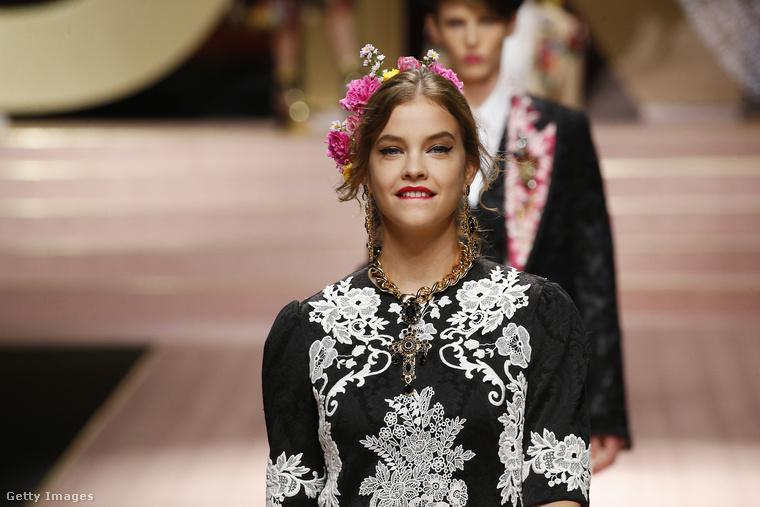 Vasárnap este volt a milánói divathéten a Dolce & Gabbana bemutatója