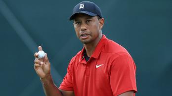 Tiger Woods legyőzte a fájdalmat, öt év után nyert újra