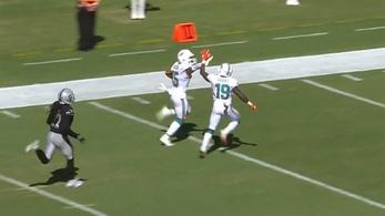 A megalázás csúcsa: még a touchdown előtt pacsizni