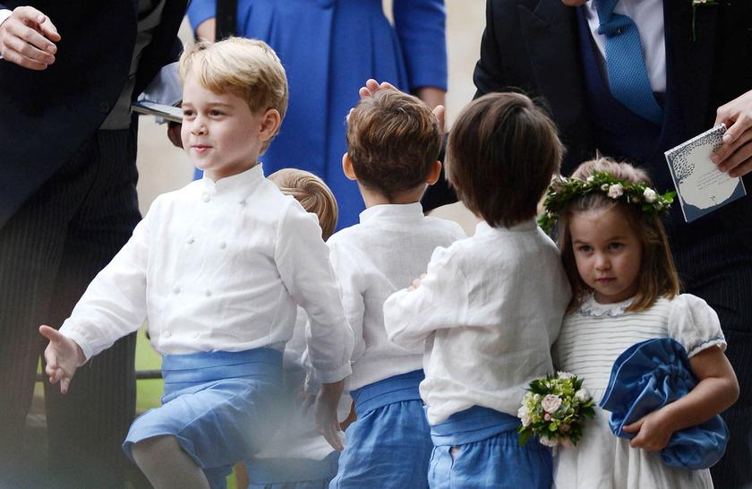 György herceg nagyon élt: imádta, hogy mindenki rá figyel.
