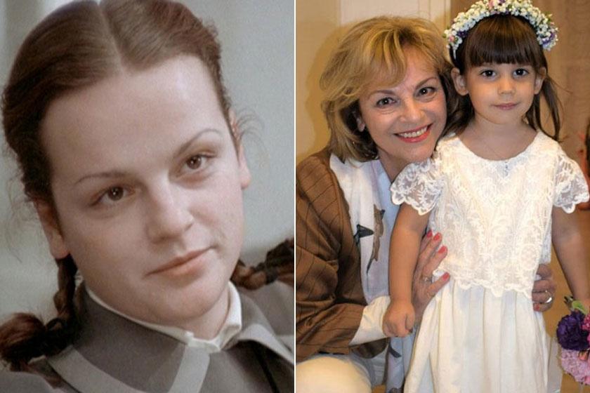 Rátonyi Hajni az Abigélben bájos, fiatal lány volt, szépségéből az évtizedek alatt mit sem veszített.