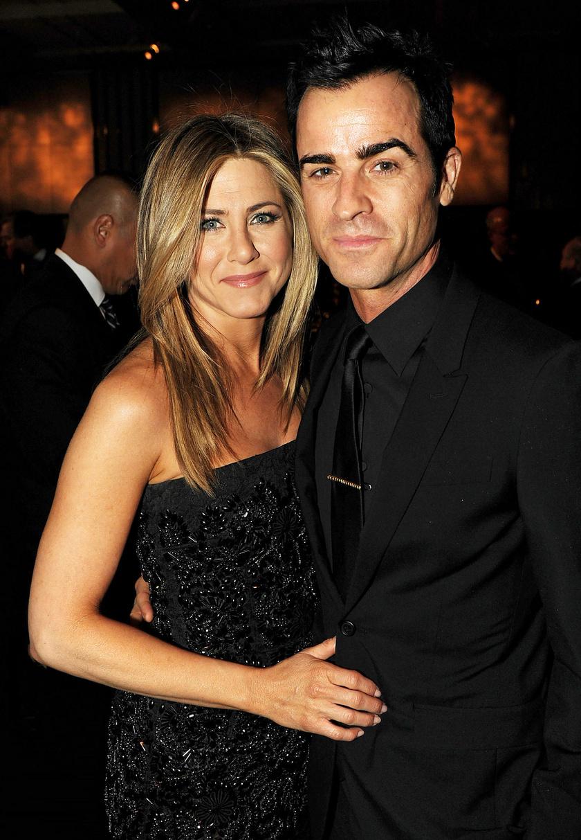 Jen és Justin a régi szép időkben.