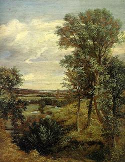 John Constable - Dedham Völgy