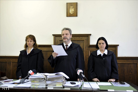 A vádlott nem jelent meg a tárgyaláson (fotó: Beliczay László)