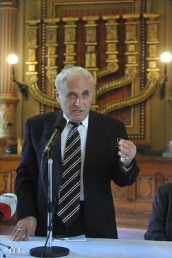 Zoltai Gusztáv, a Magyarországi Zsidó Hitközségek Szövetségének (Mazsihisz) ügyvezető igazgatója
