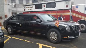 Fotókon az új amerikai elnöki limuzin