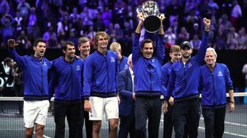 Federerék legyőzték a világot, megnyerték a Laver-kupát