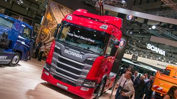 A jövő kamionja elektromos és vezeti önmagát