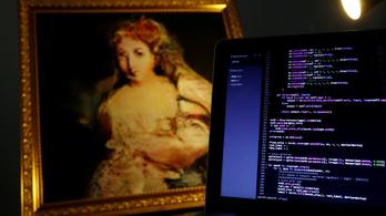 Számítógép által festett képet árverez el a Christie's