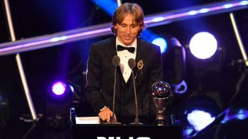 Luka Modric, aki legyőzte Ronaldót és Messit