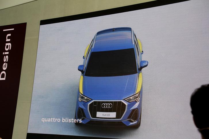 A sárvédők feletti markáns vállakkal a legendás Quattro versenyautókra akarnak emlékeztetni - az Audinál ezeket az elemeket Quattro-buboréknak nevezik