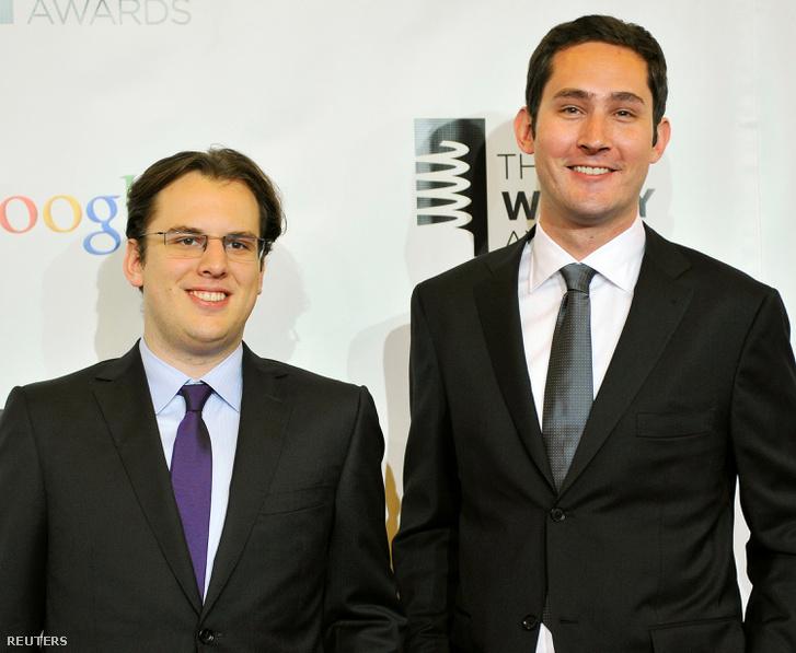 Mike Krieger és Kevin Systrom