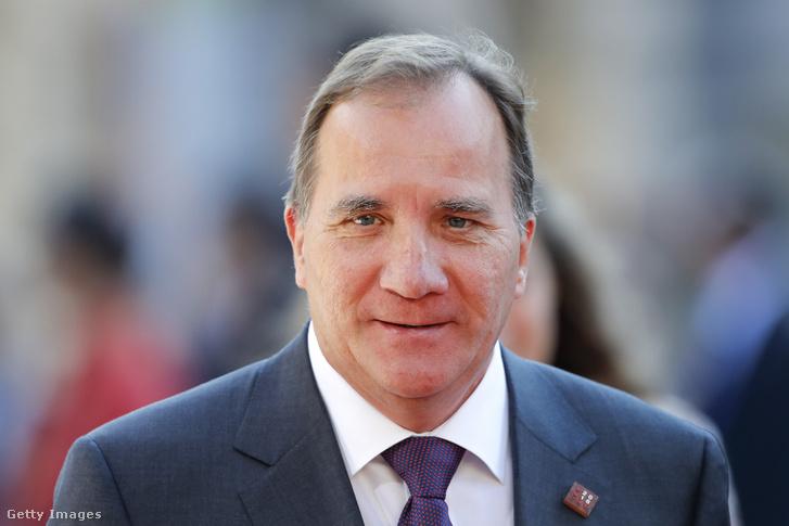 Stefan Löfven svéd miniszterelnök
