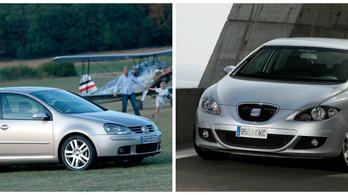 VW-belharc: Golf 5 vagy Leon?