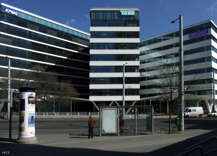 A KPMG irodaépülete a főváros XIII. kerületében a Váci út és a Dózsa György út kereszteződésénél