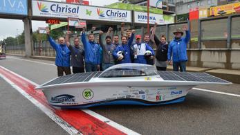 Magyar siker a napelemes autók európai versenyén