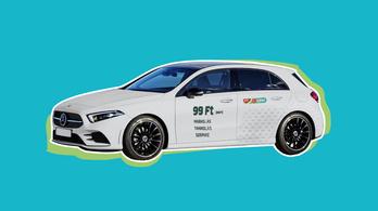 Elektromos autók helyett drágább benzines Mercedesekkel bővül a Mol Limo flottája