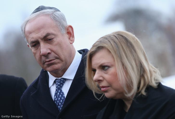 Benjámin és Sara Netanjahu
